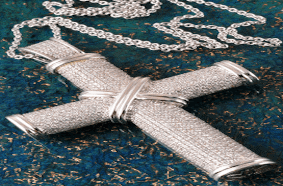 Schmuck Juwelier Gold & Diamonds-Ein Foto von einem Brilliant Anhänger