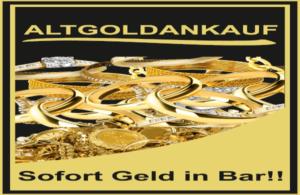 Foto von einen Plakat Gold Ankauf