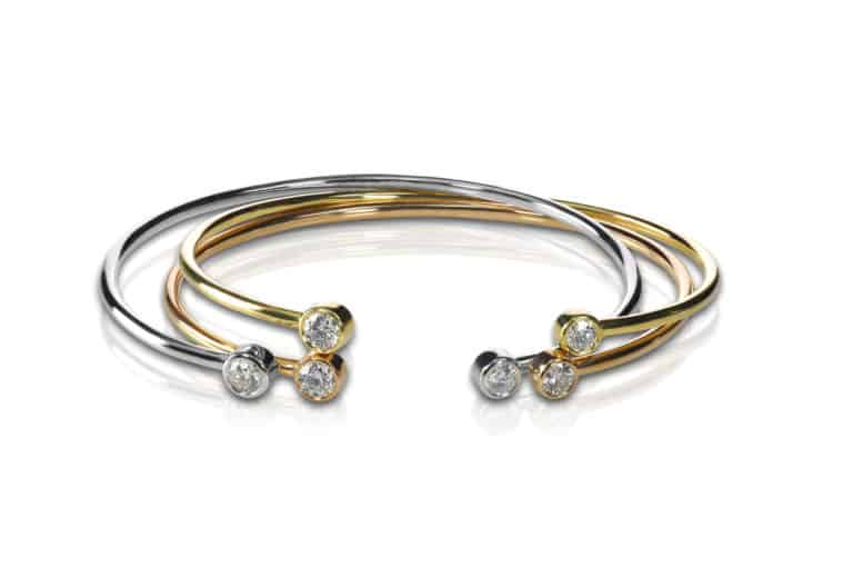 Bild einen Gold-Armband