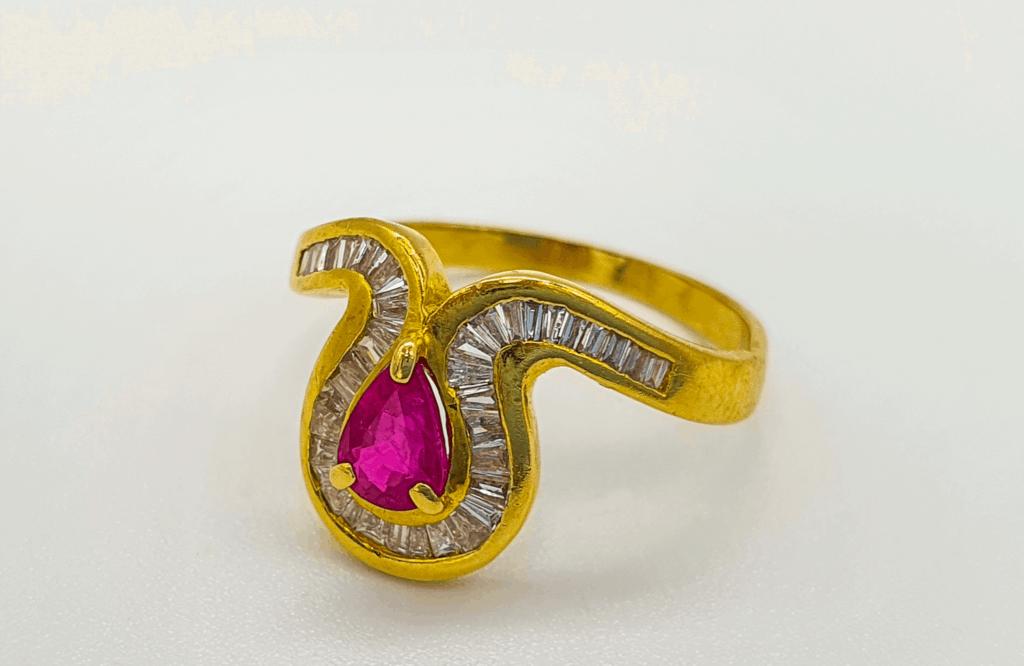 Goldring mit Brillanten Juwelier Gold & Diamonds